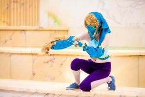 Gerudo Link ~Breath of the Wild~ by Arctic-RevoIution