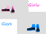 MMD Punk Shoes pack by amiamy111