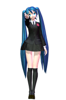 DT 2nd Saihate Miku by Sushi-Kittie