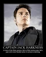 Captain Jack Harkness poster by DevintheCool
