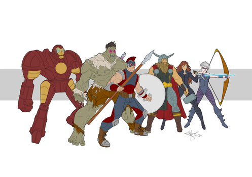League of Legends Assemble! by chinqchucknorris