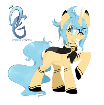 Pony Design Commission by Okeanos-Heart