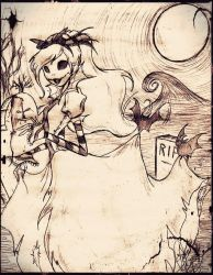 The princess of Halloween Town by DB-artwork