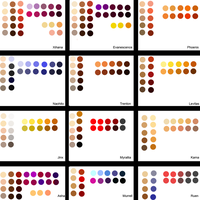 Reference Swatches by Xihana