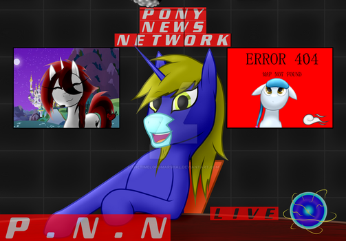 This is PNN! (Pony News Network) by TheTimeLordMarshal