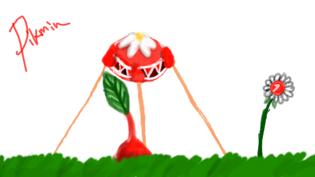 Red Pikmin by RupertRock