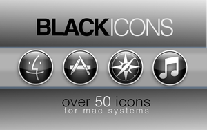 The New Black Icon set by priorityanddefault