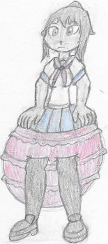 CM: Ayano's Frilly Panties Cover by Ambipucca
