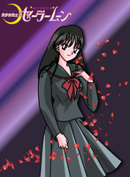 Rei Hino PGSM (Anime Style) by FlyingPrincess