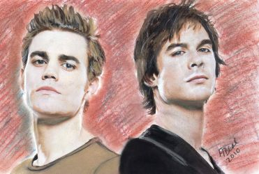 Vampire Diaries by sketchychick