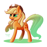 Applejack! by MidnightSix3