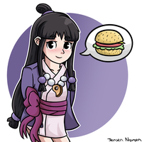 Phoenix Wright Ace Attorney: Maya Fey by thegamingdrawer