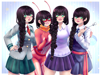 :CM: Miraculous Cora Zone Banner by krissehpoo