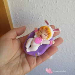 Sailor Moon Usagi baby sleeping figure by Fegarostalida