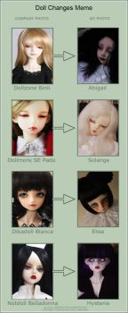 .doll changes meme. by haitsu