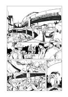 New Life Issue 1 Inks Preview by TheLoganMiller