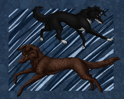 My doggy's as wolf by GreeNissy