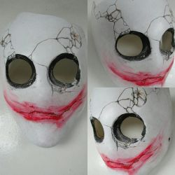 Serious Jitters - Resin mask by burgerstrings