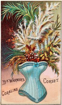 Victorian Advertising - A Perfect Corset At Last by Yesterdays-Paper