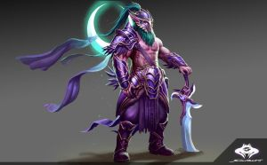 ...Night Elf Blademaster... by ShadowPriest