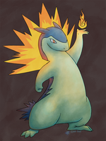 Typhlosion by ColdBed