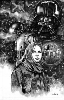 rogue one fan art by LoadedAtama
