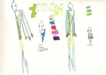 Deviant Art ref sheet by Naturalsinner