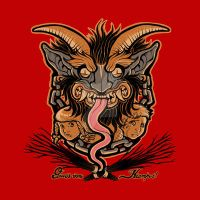 Greetings From Krampus by Design-By-Humans