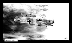 BF 109 E by Fisher22
