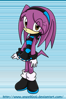 Angell the echidna by angell0o0