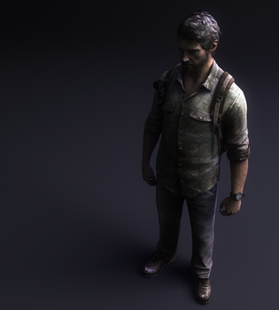Joel ~The Last of Us~ by itsHelias94