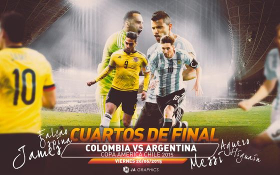 Colombia Vs Argentina by WDANDM
