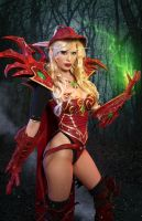 Valeera Sanguinar Blood Elf Cosplay Warcraft by ApotheosisCosplay
