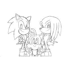 Team Sonic by BlueTyphoon17
