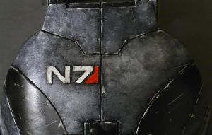 My finished N7 Armor,Commander Shepard. by NYCAssassin