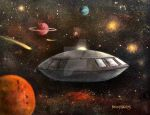 Lost In Space by Rbpainter