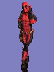 Marvel Future Fight - Deadpool by DatKofGuy