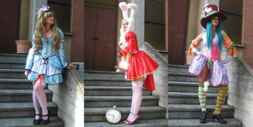 Alice In Wonderland Costumes 3 by NoFlutter