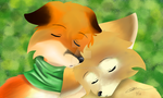 Foxes by 00Zeref
