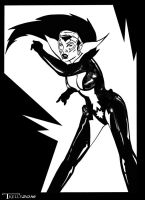 Star Sapphire BW by Tom Kelly by TomKellyART