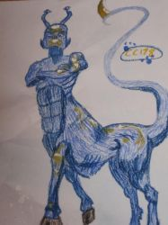 Animorphs Visser 3 drawing by CocoaCutie178