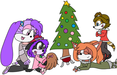 A K9 Christmas by MelonTart-mlp