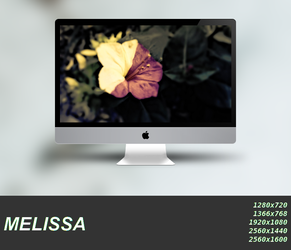 Melissa Wallpaper Pack by linuxville