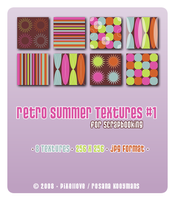 Retro Summer Set 1 - Textures by snwgames