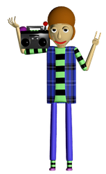 90s Baldi or something by Doubla-R