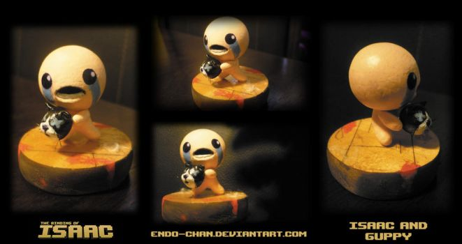 The binding of Isaac: Isaac and Guppy Figure by EdSculpt