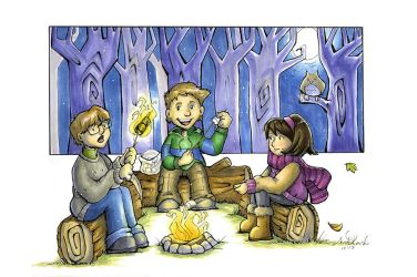 Campfire by Anne-O