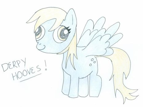 Derpy Hooves by Kait-The-Fearless