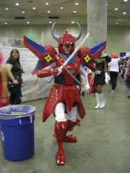 Ronin warriors by BlueRavenfire