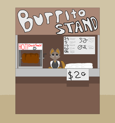 Burrito Stand by Two-Ton-Neko